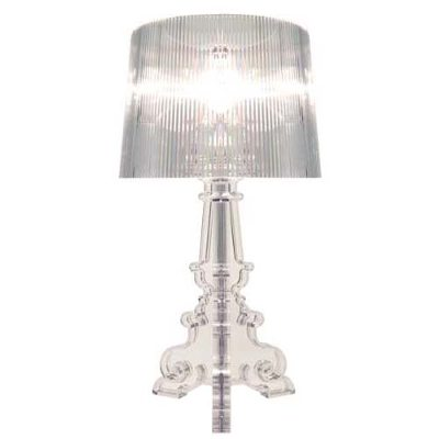 Bourgie bordslampa, transparent