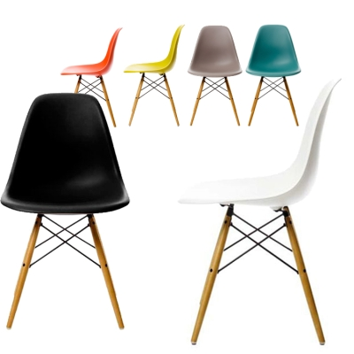 Eames Plastic Side Chair, DSW