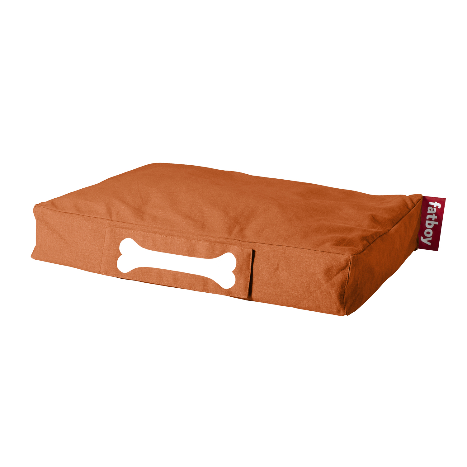 Doggielounge liten sittpuff, orange