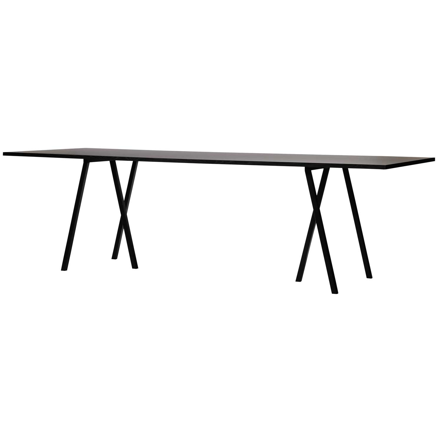 Loop Stand Table bord 200 cm, svart