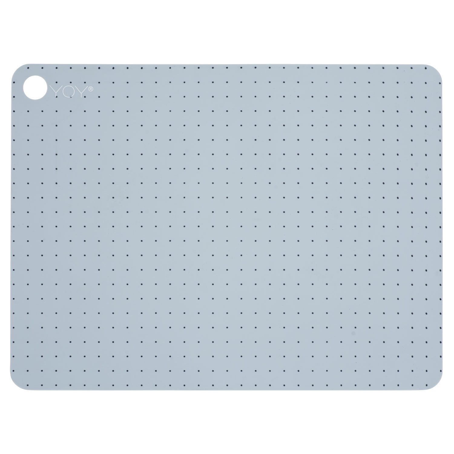 Placemat 2-pack, gråblå