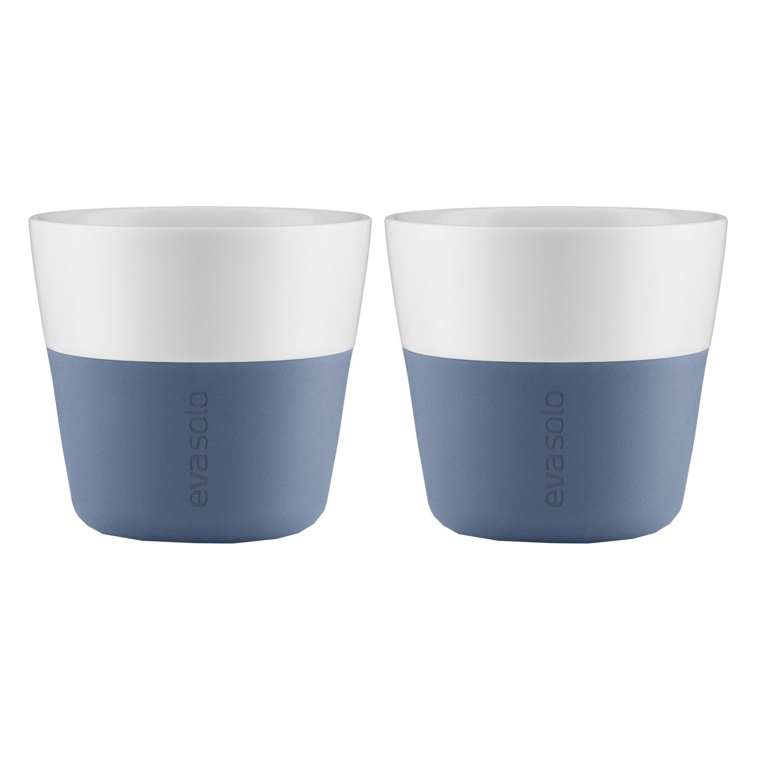 Lungo mugg 2-pack, moonlight blå