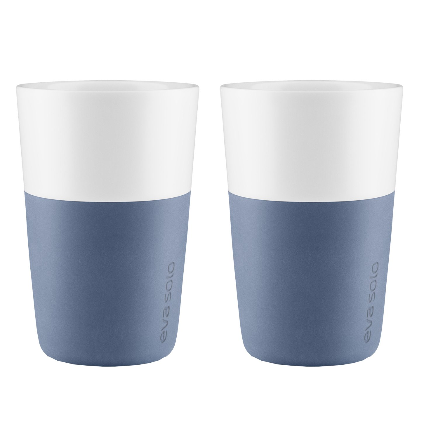 Caffe Latte mugg 2-pack, moonlight blå
