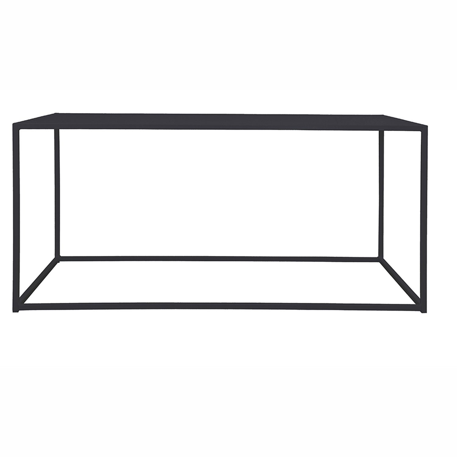 Domo Rectangle soffbord, svart