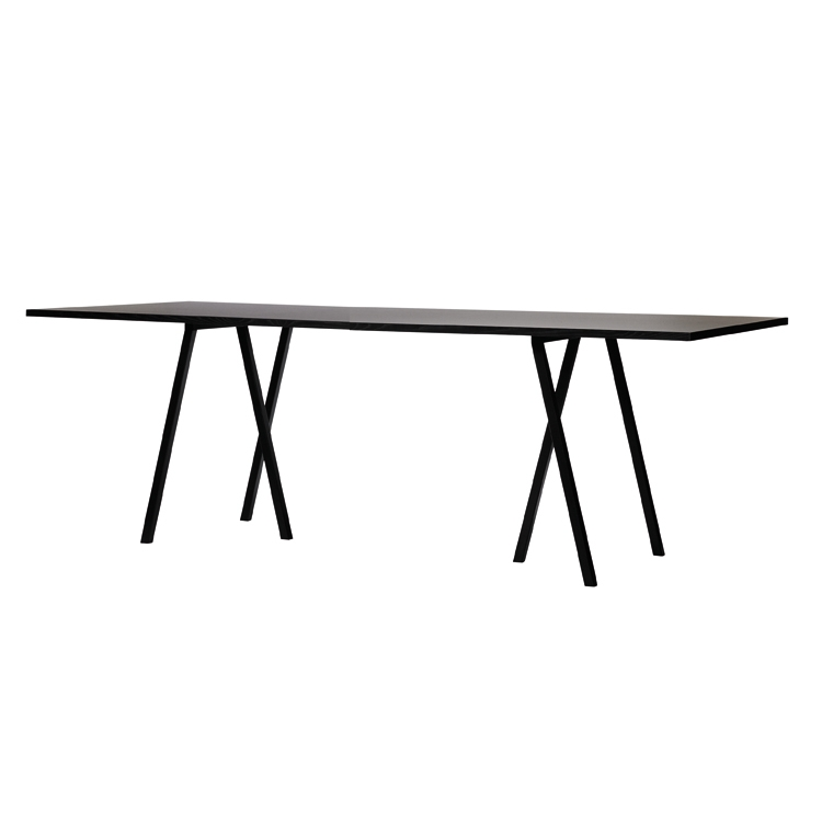 Loop Stand Table bord 180 cm, svart