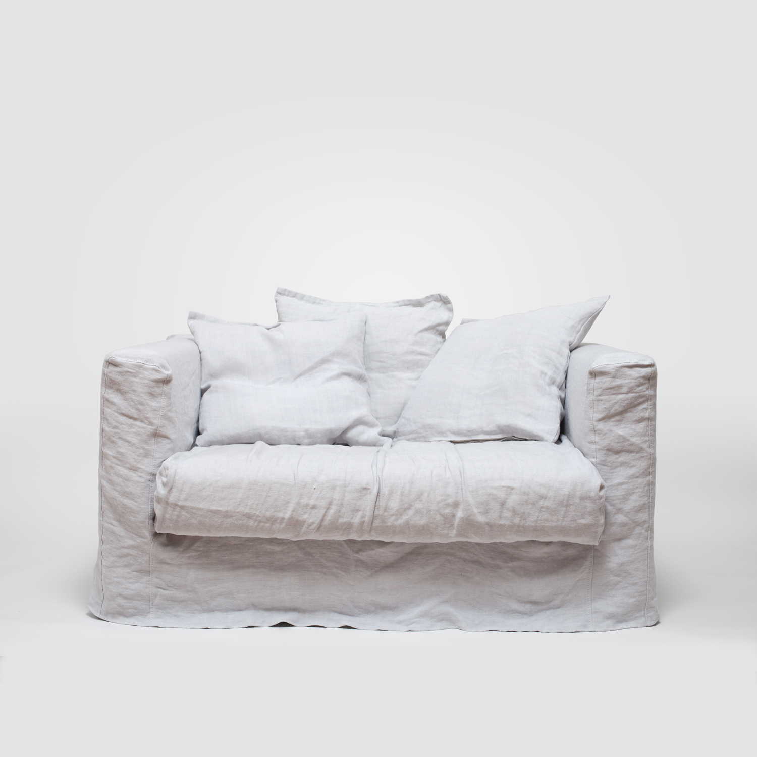 Le Grand Air Loveseat klädsel, Misty Grey