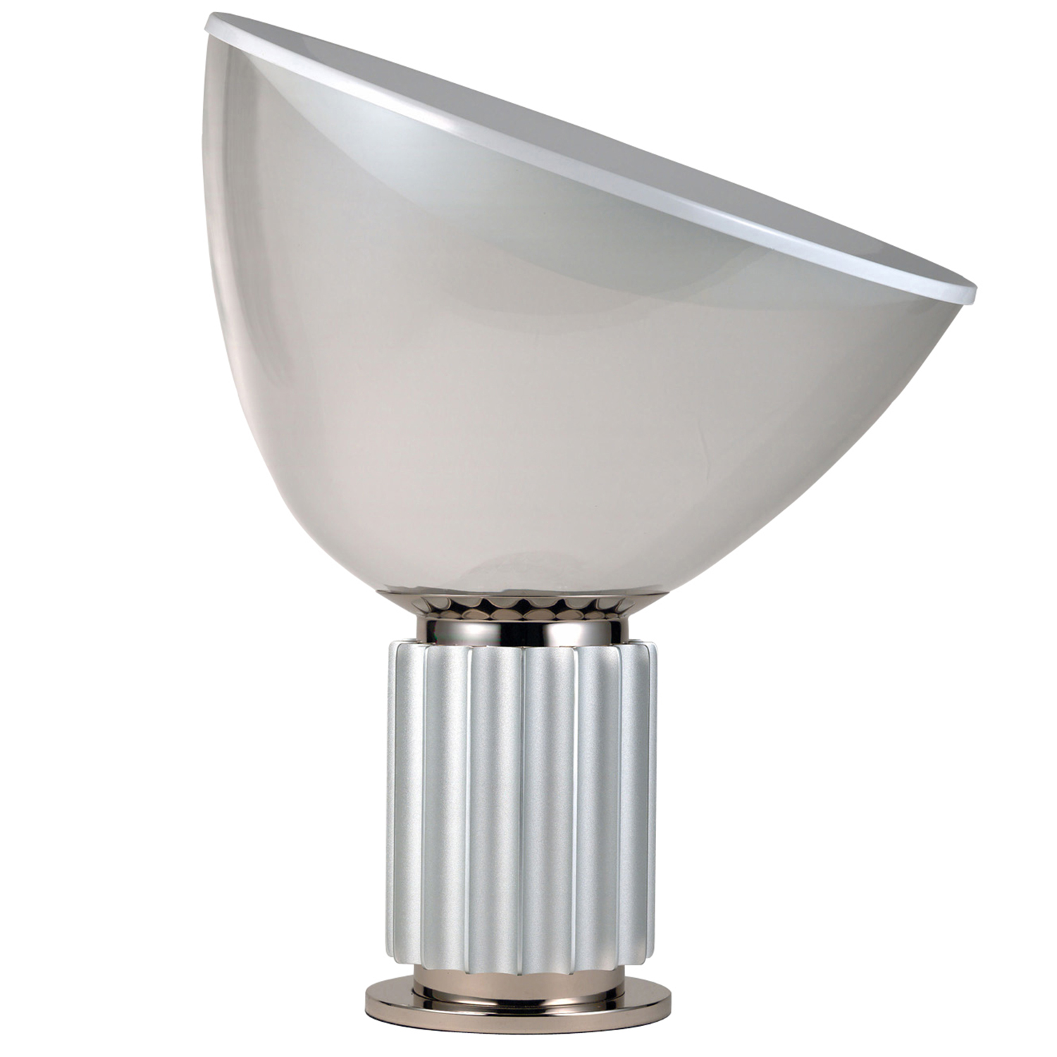 Taccia LED small bordslampa, silver