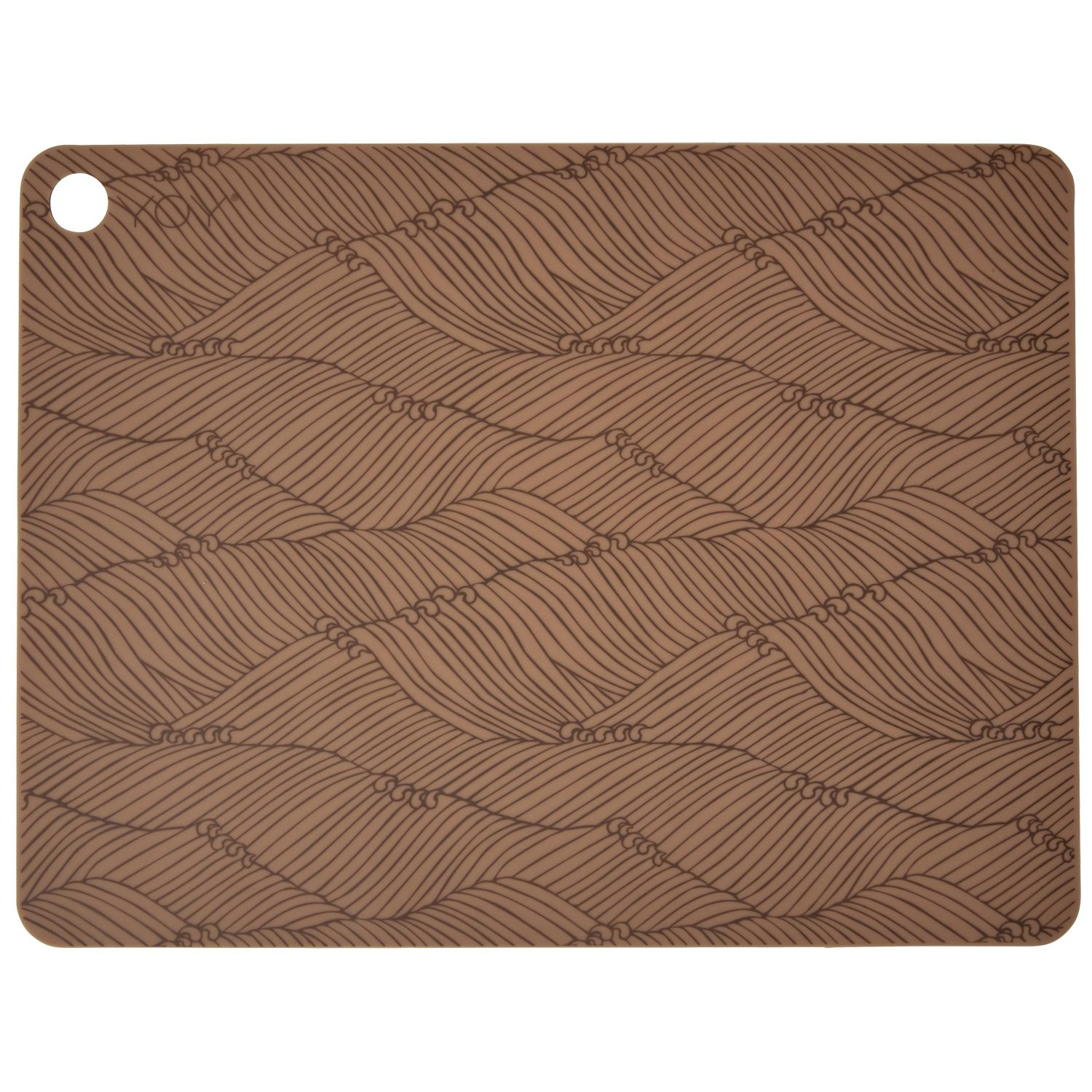 Placemat 2-pack, caramel