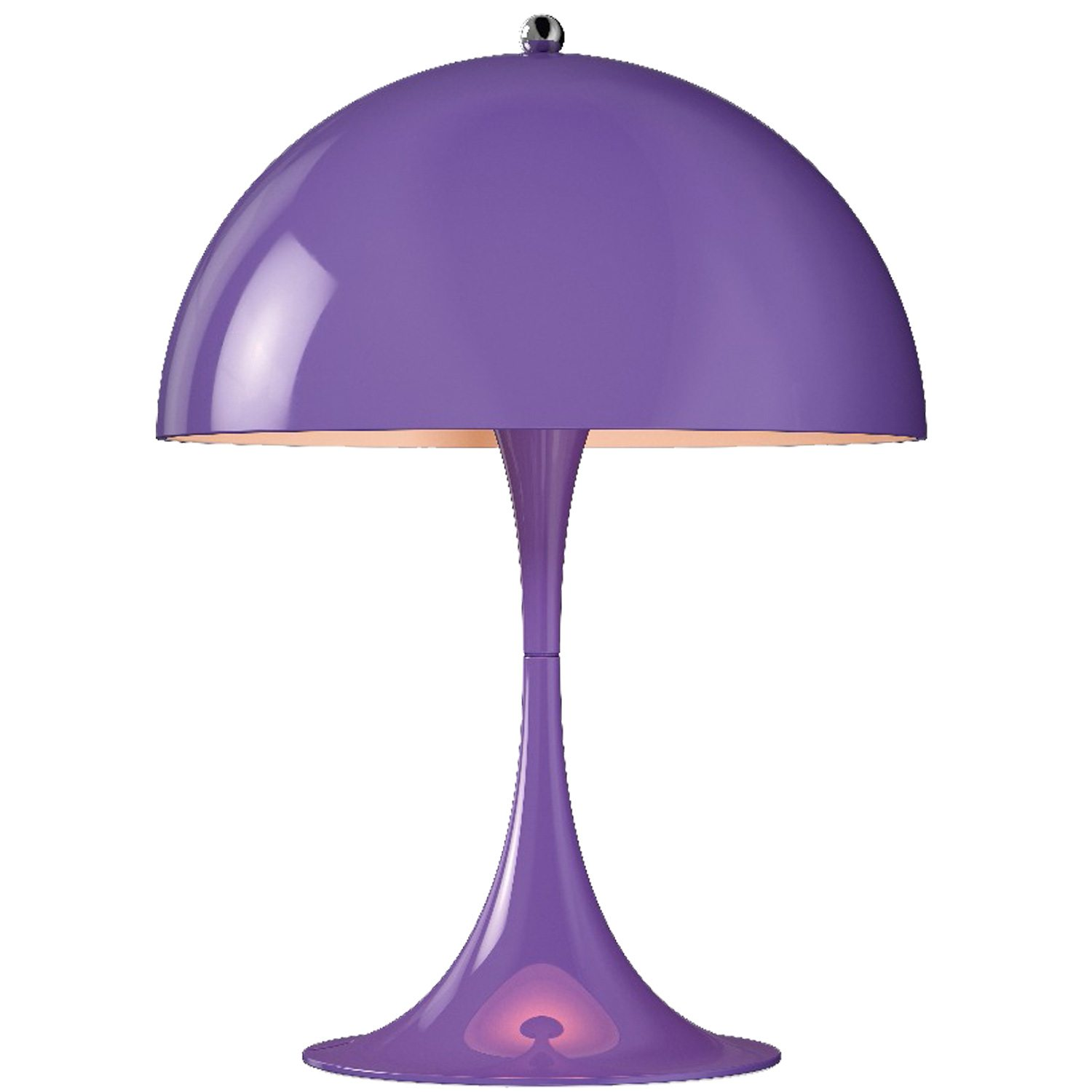 Panthella Mini bordslampa, lila