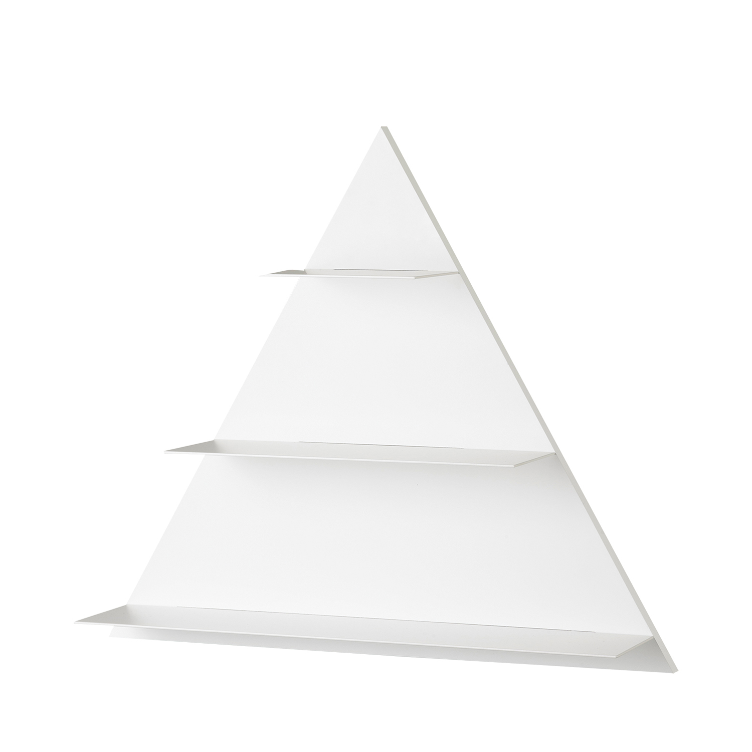 Paper Shelf Triangular hylla, vit