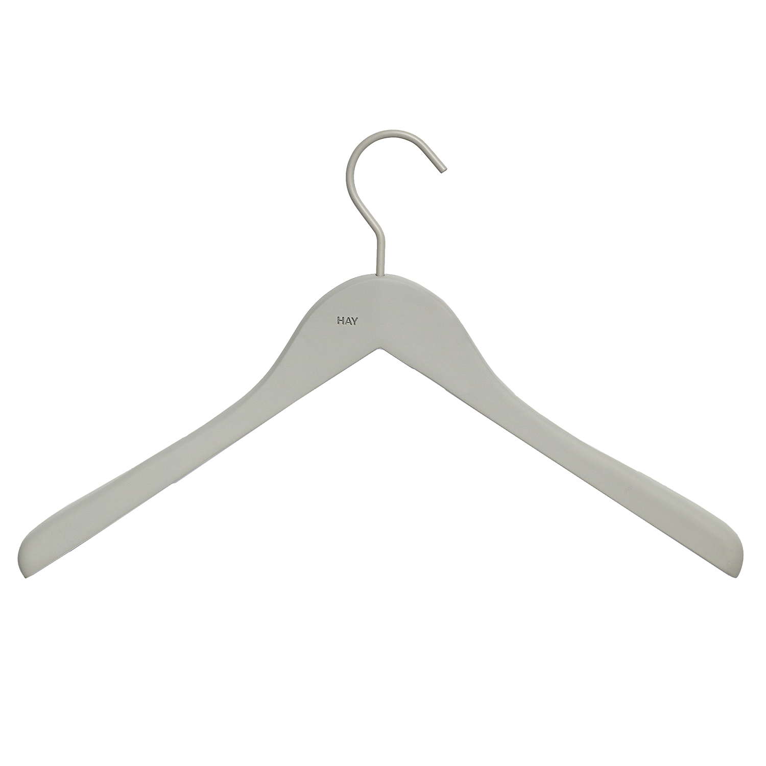 Soft Coat Hanger wide 4-pack, grå