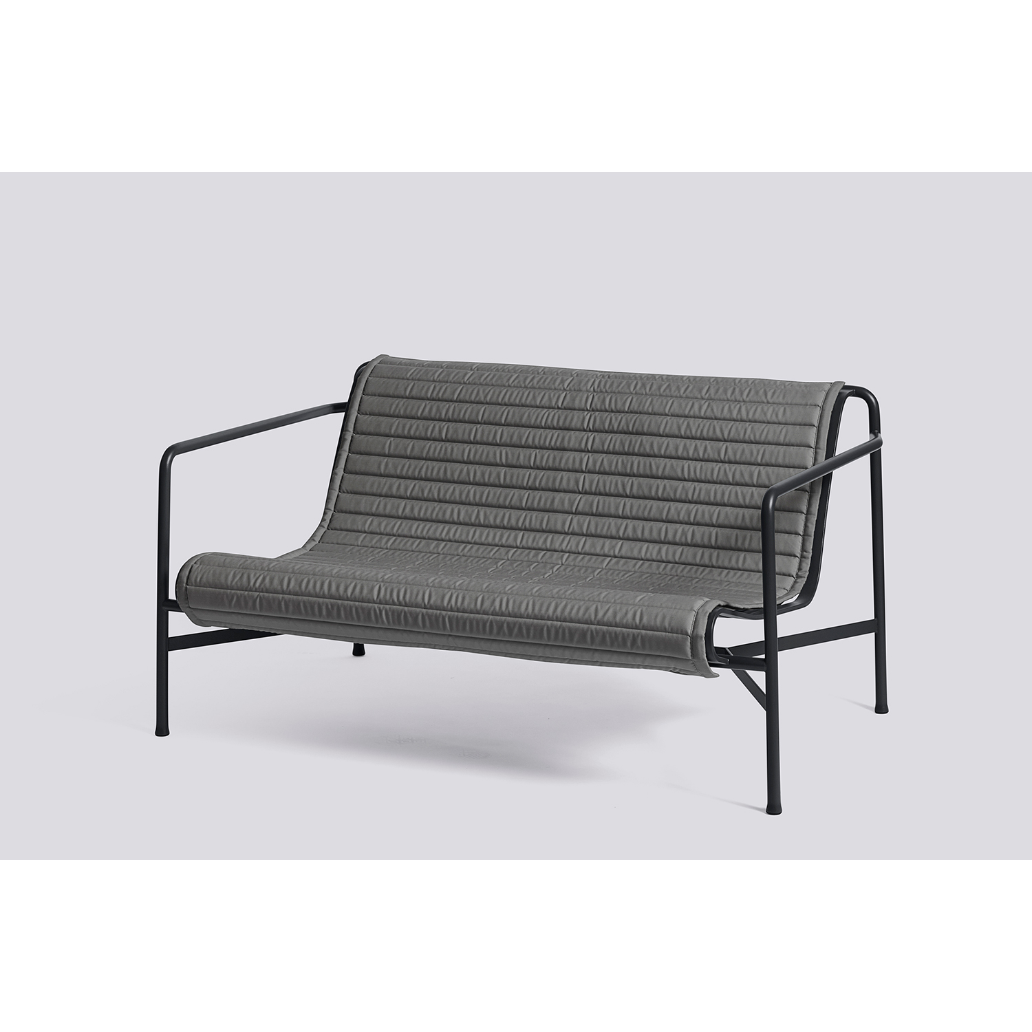 Palissade Quiltad dyna loungesoffa, anthracite