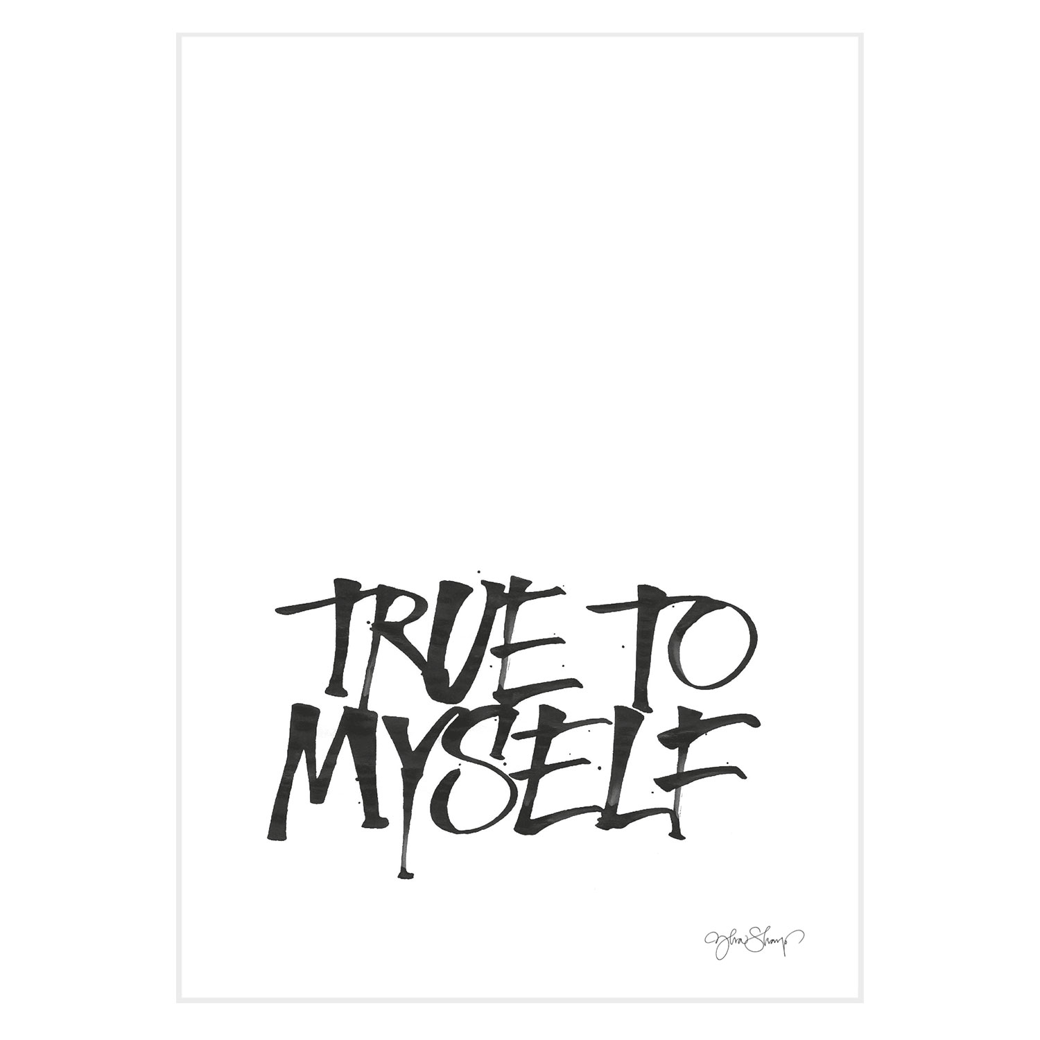 True To Myself poster