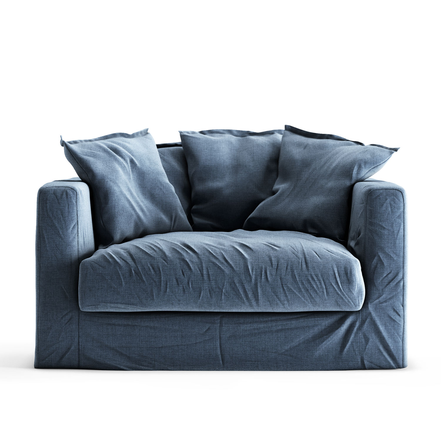 Le Grand Air Loveseat klädsel, Feeling Blue