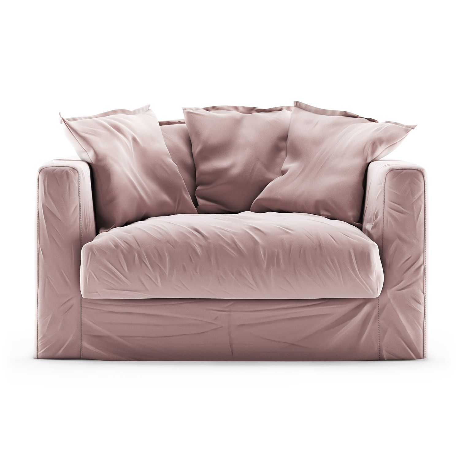 Le Grand Air Loveseat sammet, Cameo