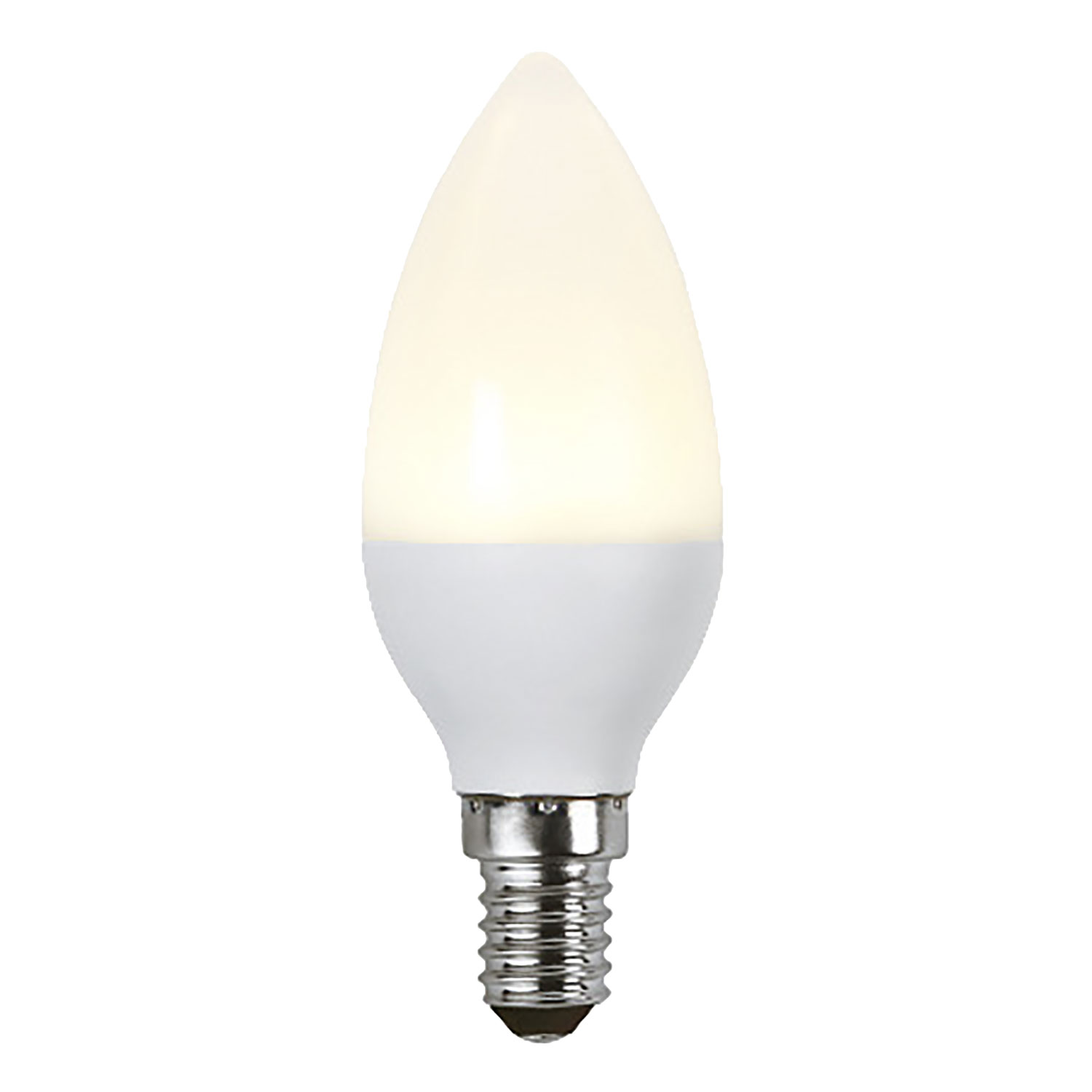 LED-lampa E14 C37 opaque Ra90, white
