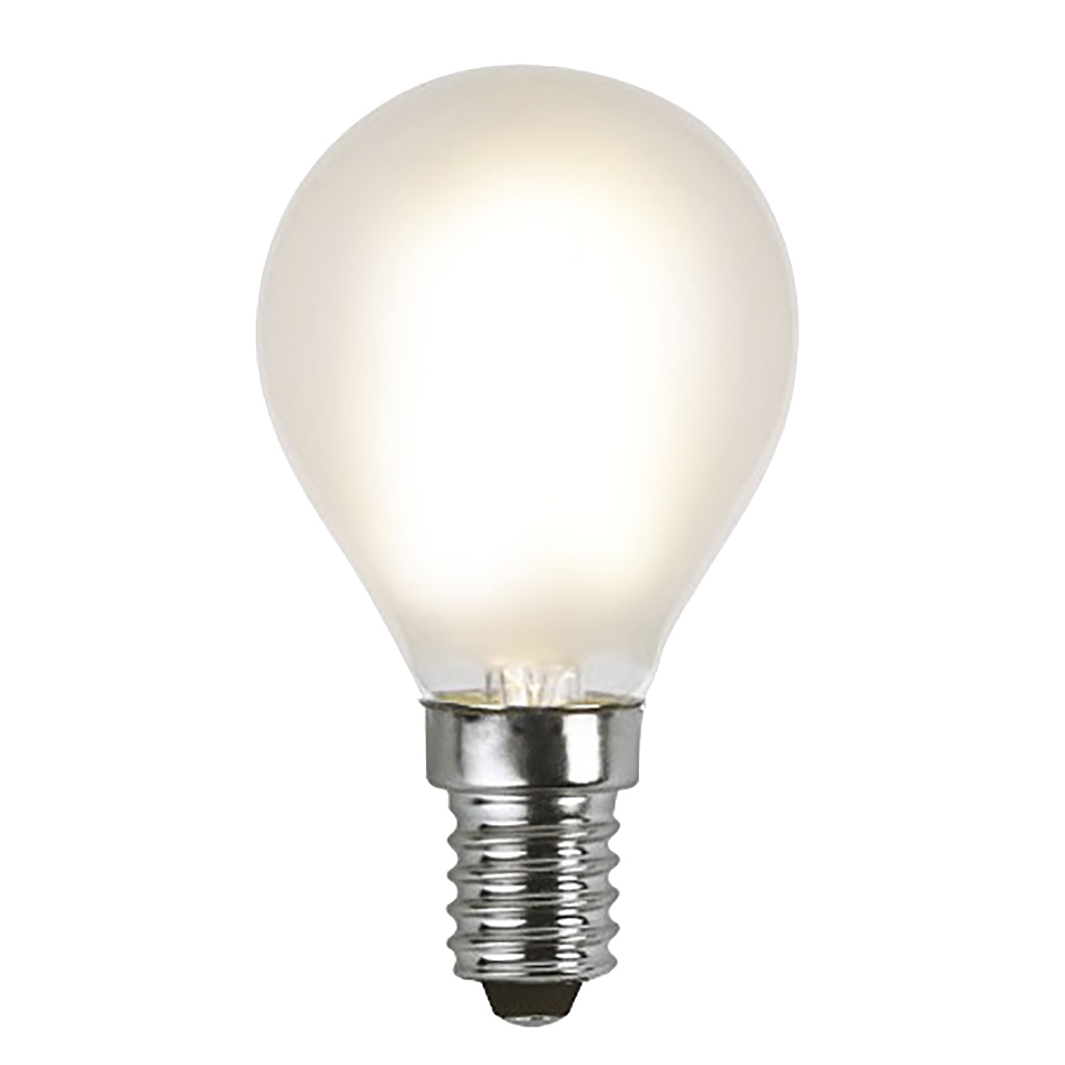 LED-lampa E14 P45 frosted filament