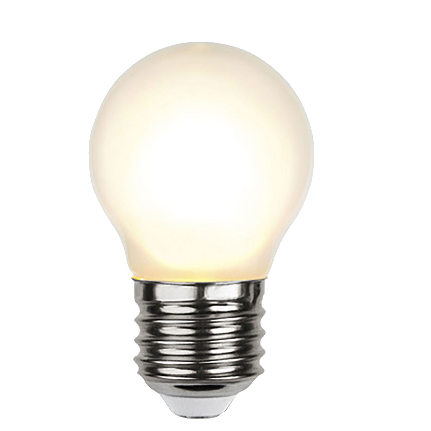 LED-lampa E27 G45 frosted filament
