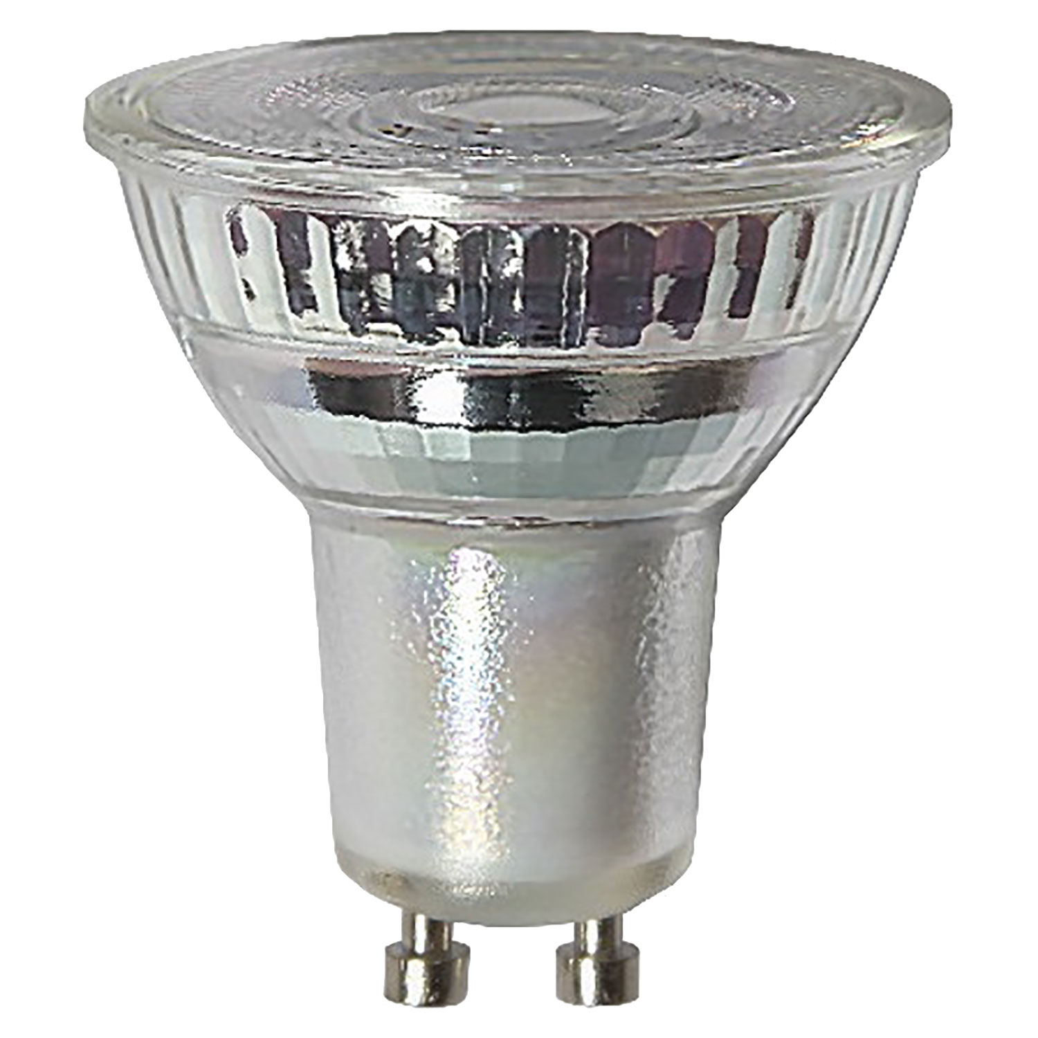 LED-lampa GU10 MR16 spotlight, transparent