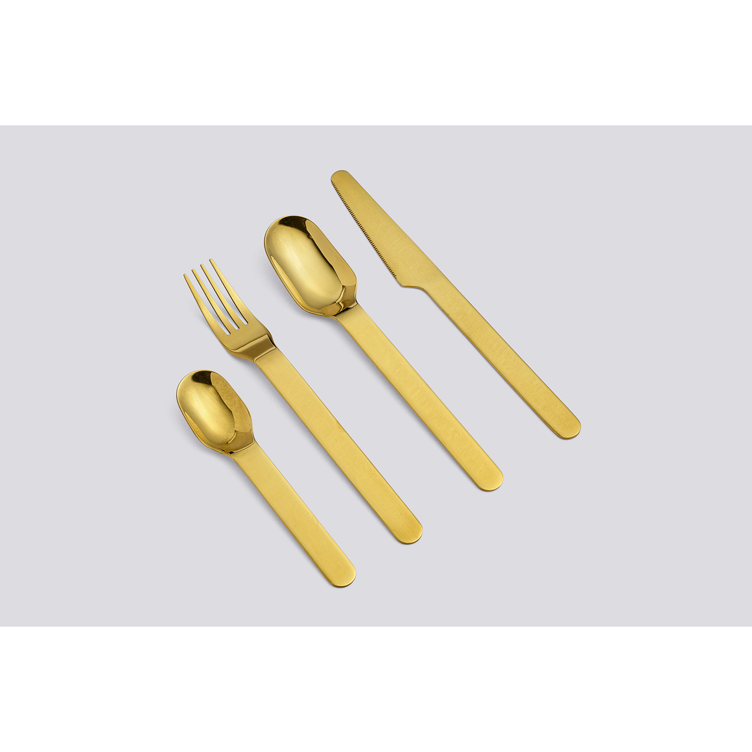 Everyday fork 5-pack, guld