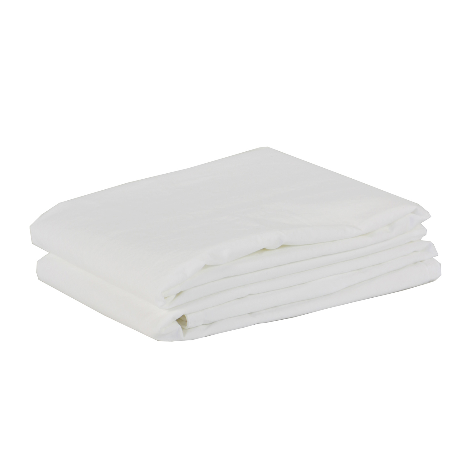 Cotton örngott 50x60 2-pack, bleached white