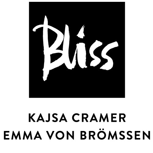 Bliss Black kökshandduk