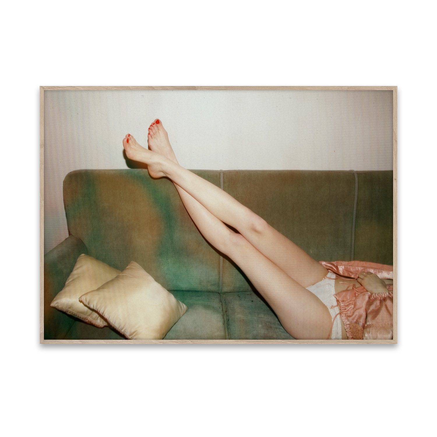 Resting Feet poster 40x30