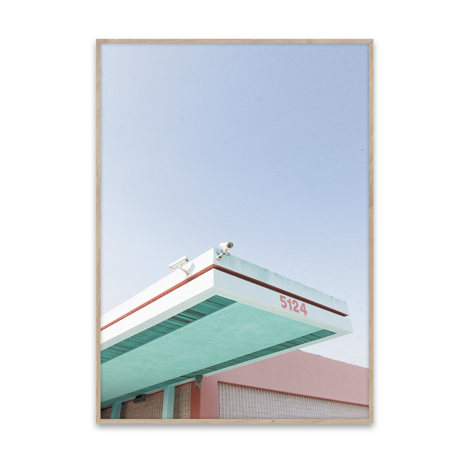 Los Angeles is Pink poster 40x30