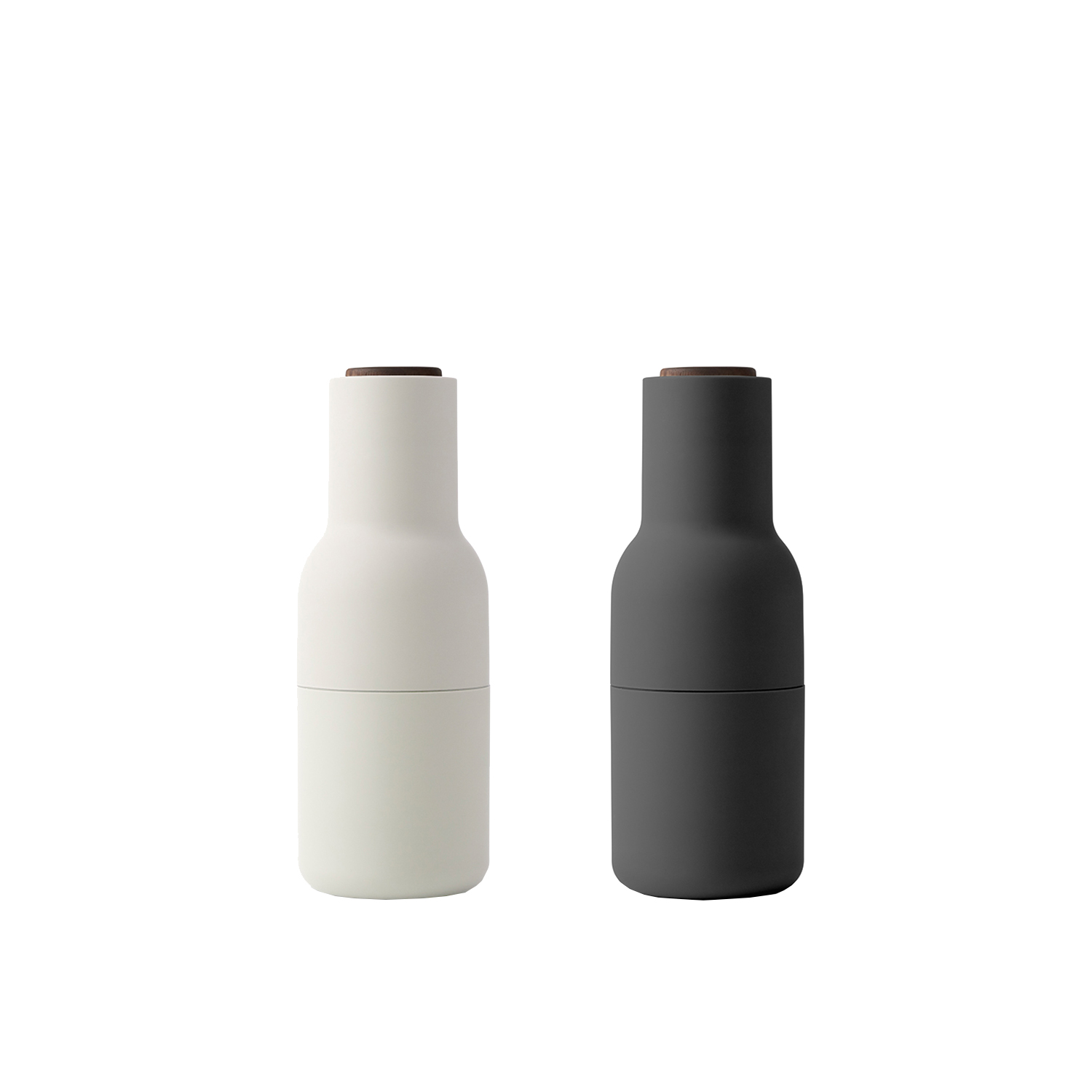 Bottle grinder 2-pack, ask/valnöt