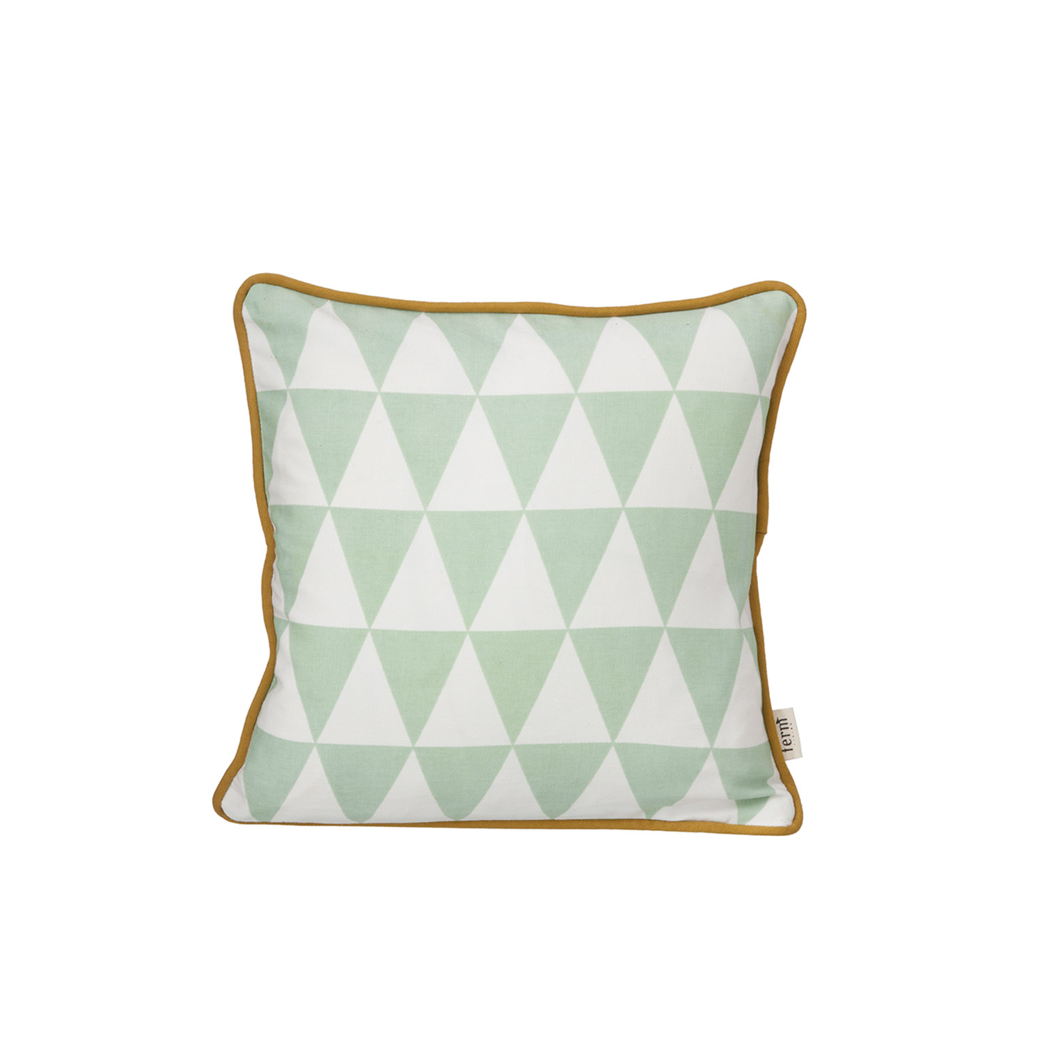 Little Geometry kudde, mint
