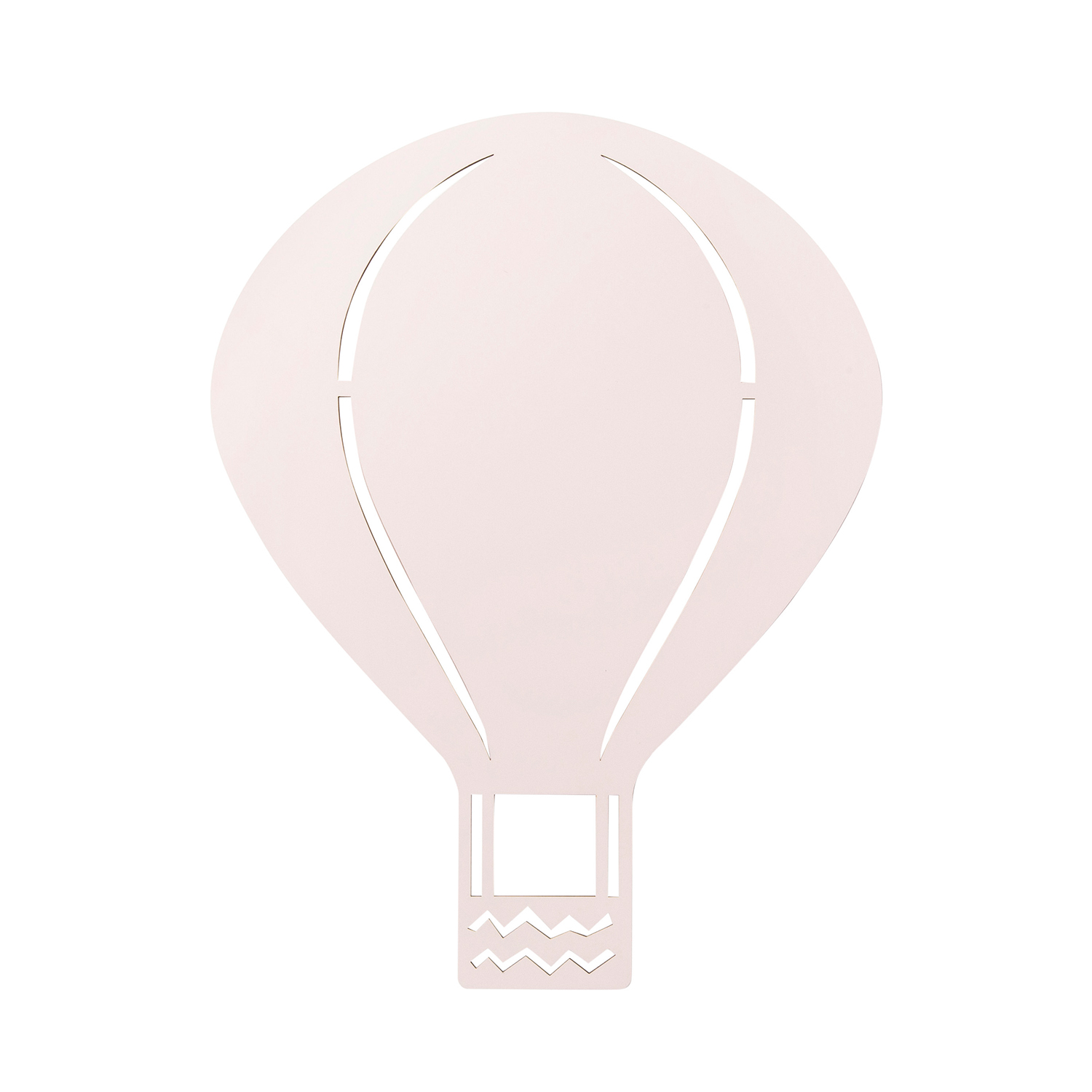 Air Balloon lampa, rose