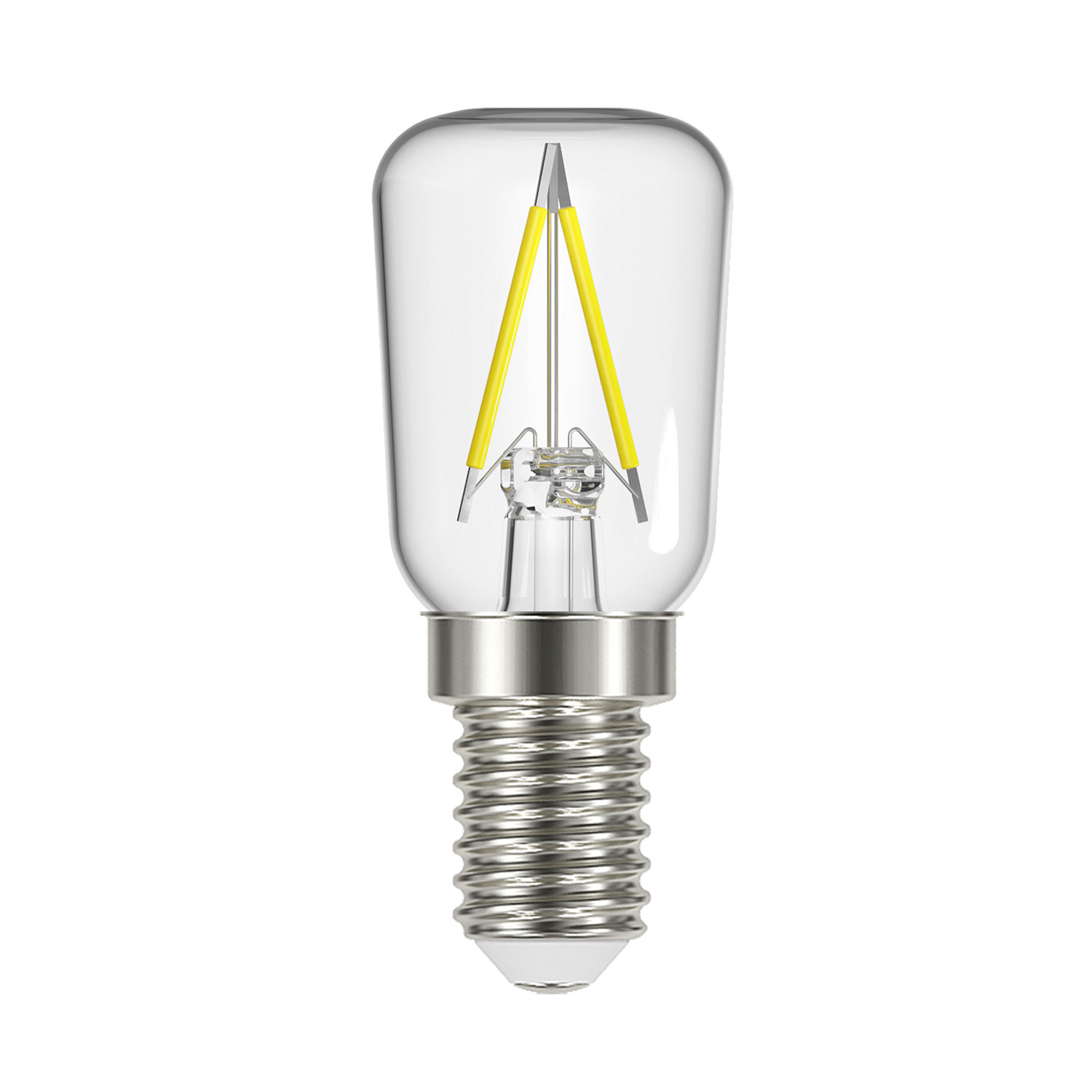 LED päronlampa E14, 2-pack