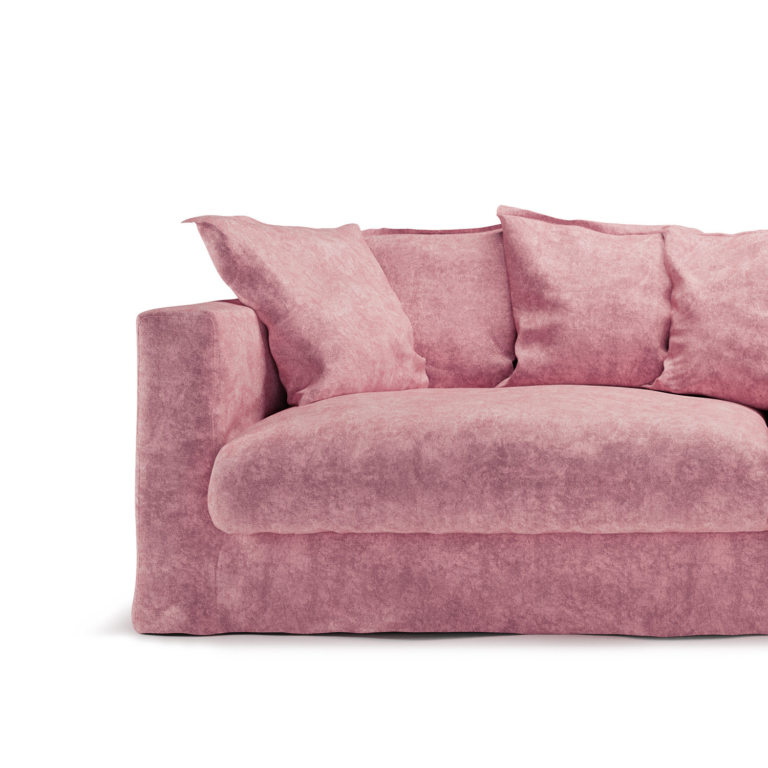 Le Grand Air 3-sitssoffa, Pastel Pink