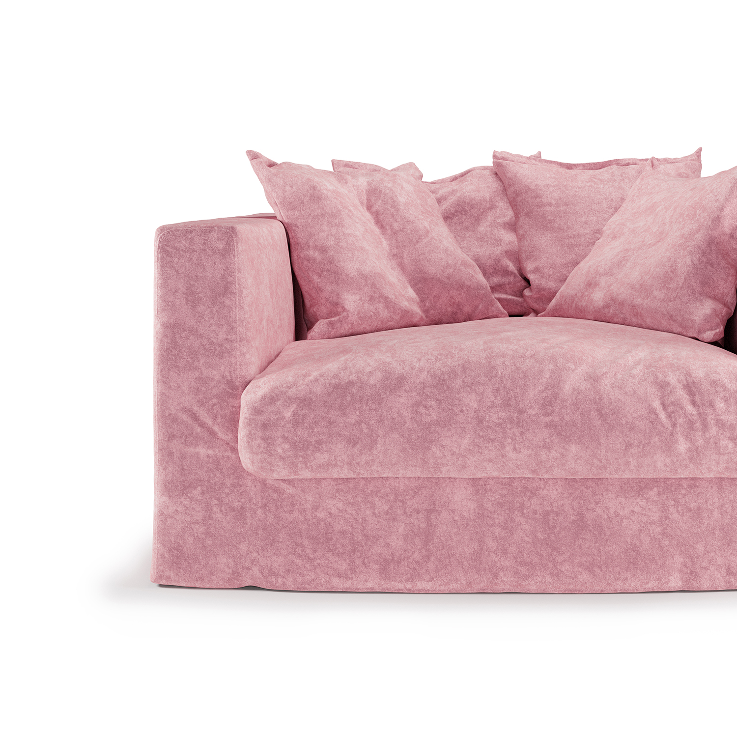 Le Grand Air Loveseat, Pastel Pink