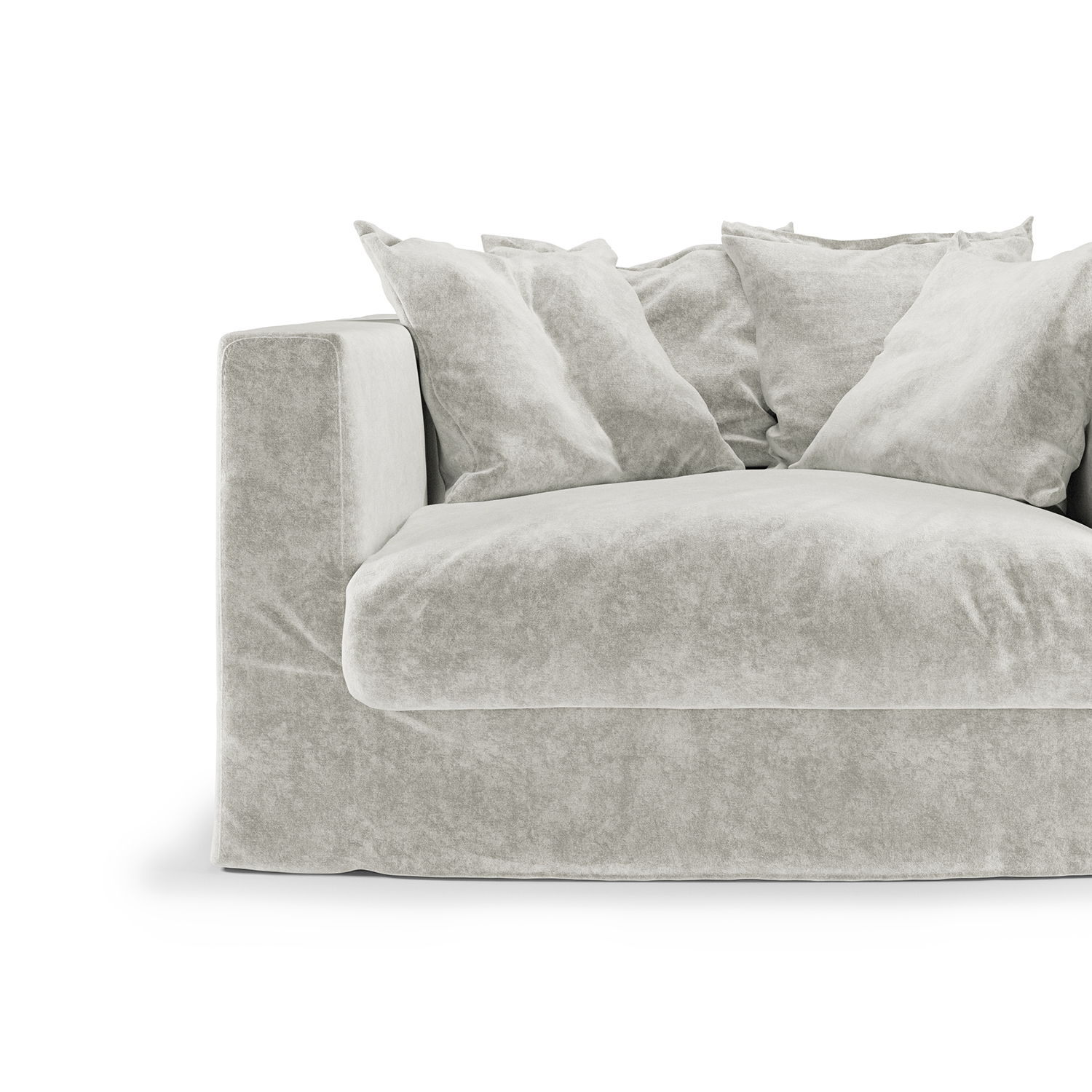 Le Grand Air Loveseat klädsel, Off White
