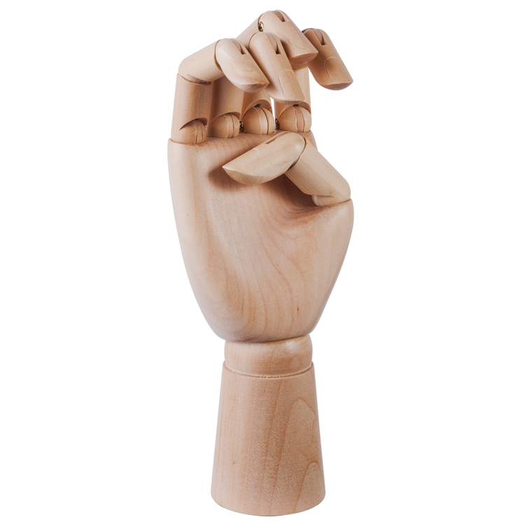 Wooden Hand, large