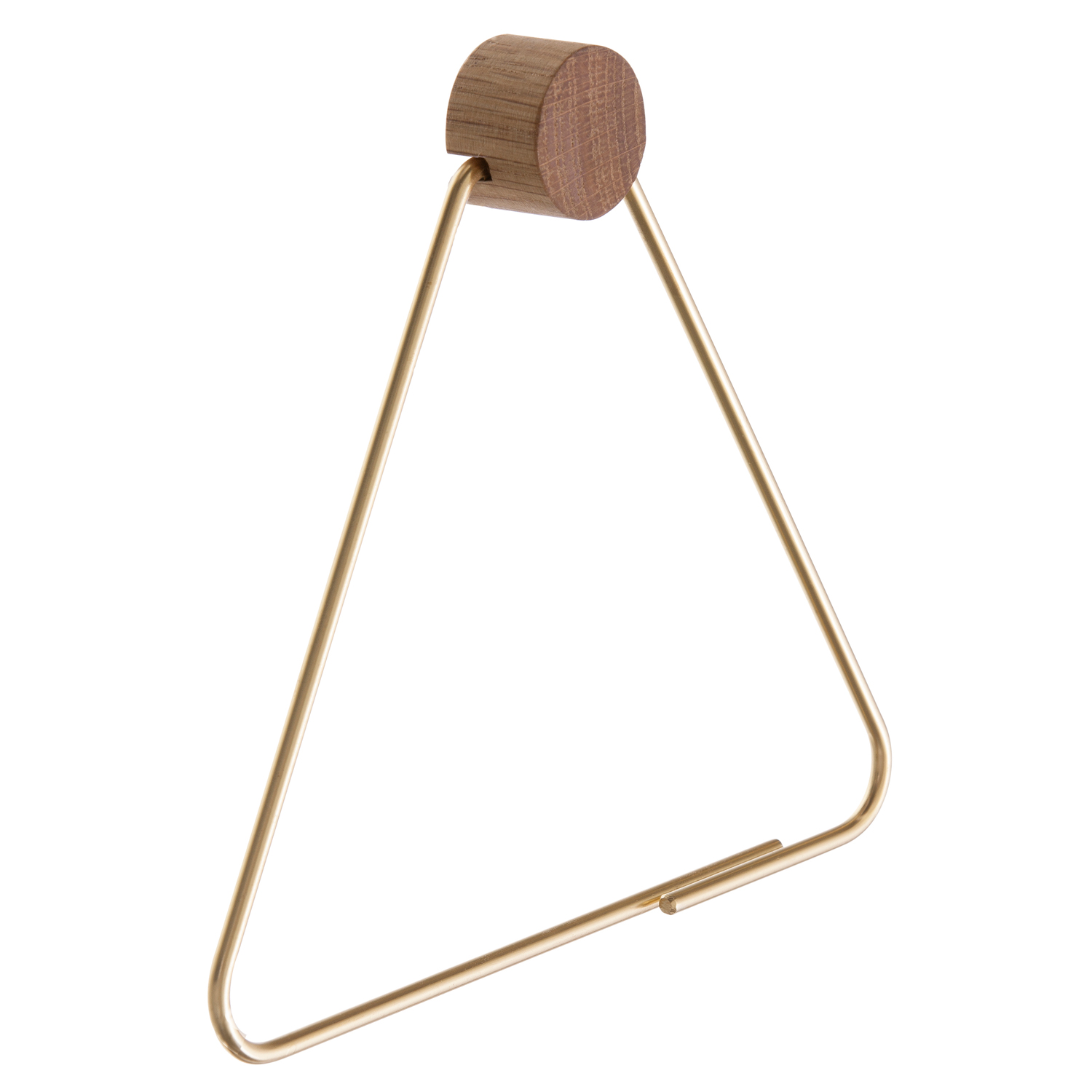Brass hängare, triangle