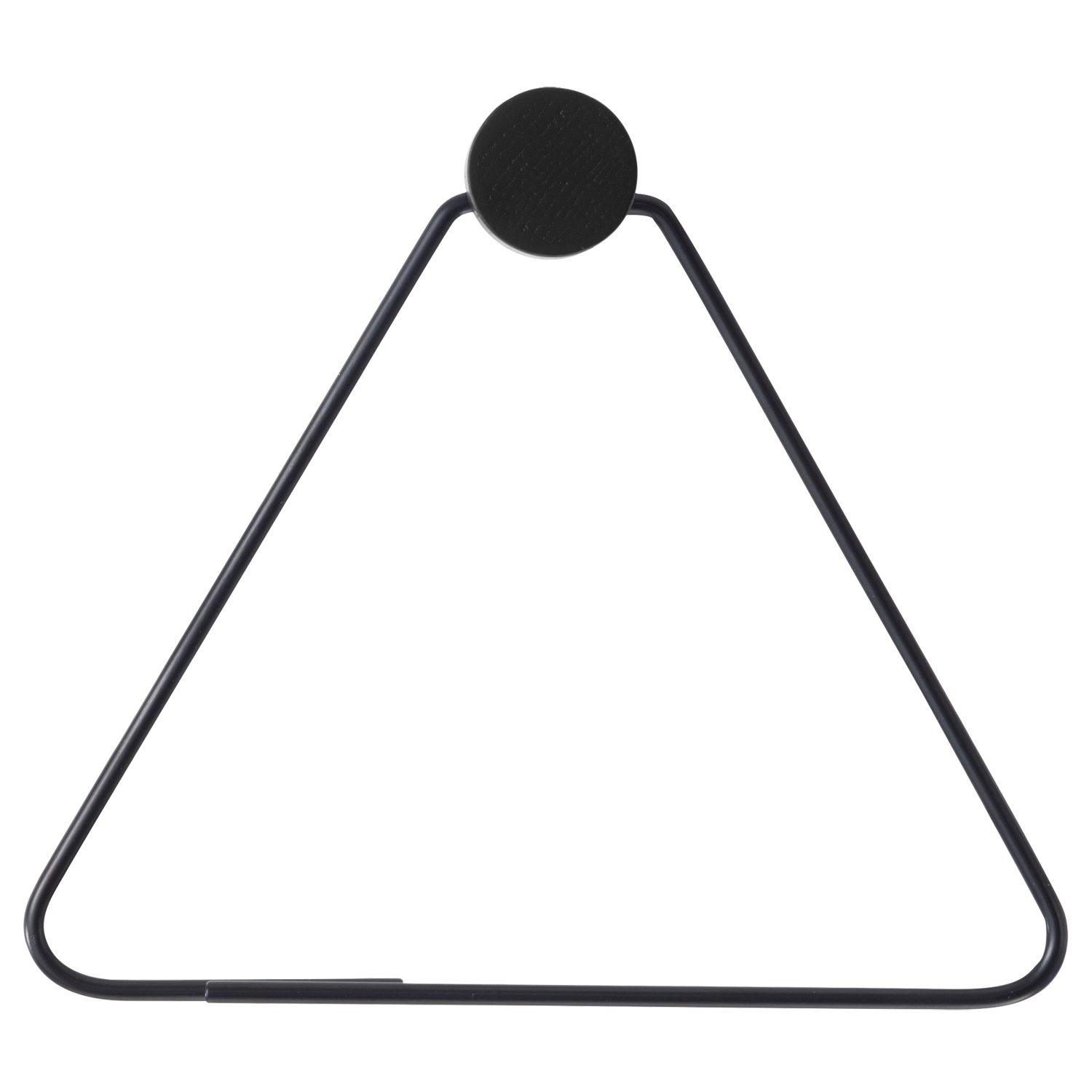 Black hängare, triangle