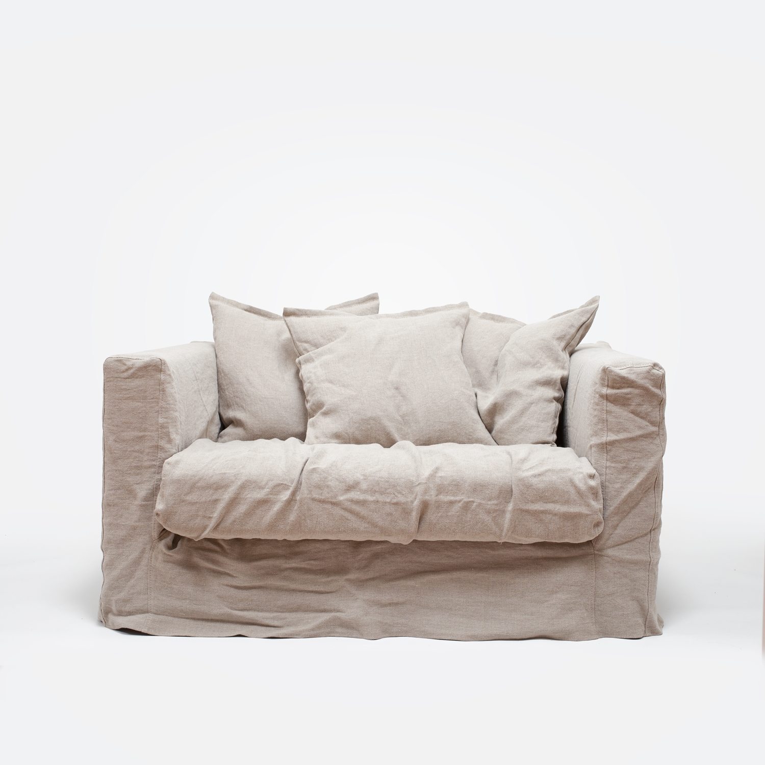 Le Grand Air Loveseat, Savage Linen