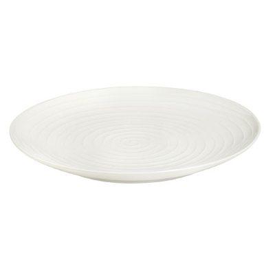 Blond serveringsfat 35 cm rand