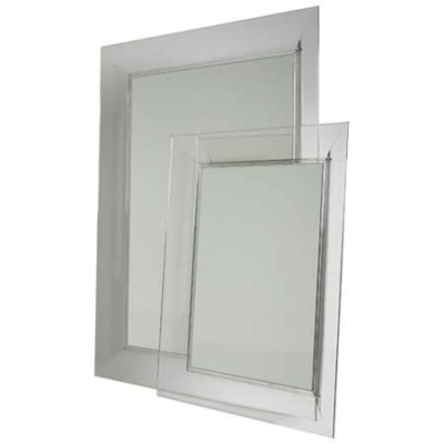 Franois Ghost spegel 88×111 cm transparent