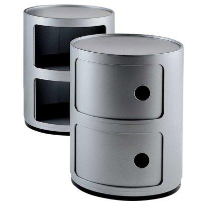 Componibili 2-fack silver