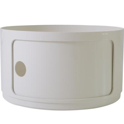 Bild av Componibili byggbar rund, hög modul, vit