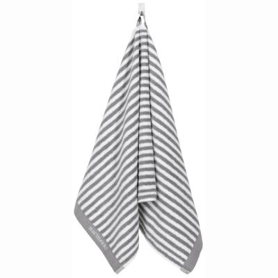 Ujo handduk, grå/vit