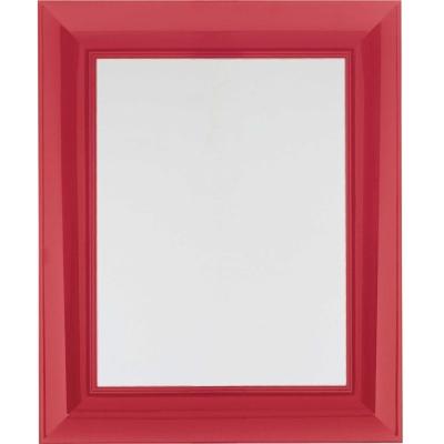 Franois Ghost spegel 65×79 cm röd