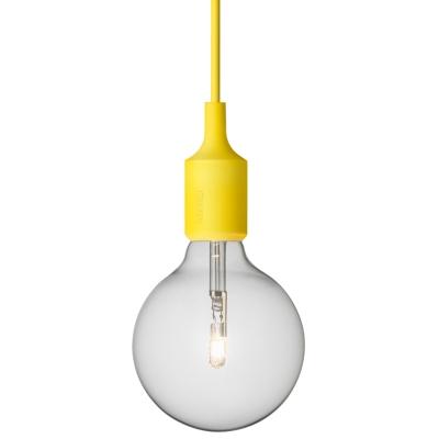 Bild av E 27 lampa, gul