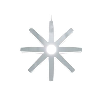 Fling julstjärna 33 cm vit