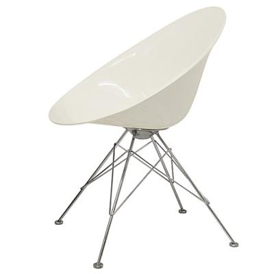 Ero/s stol med ben, vit