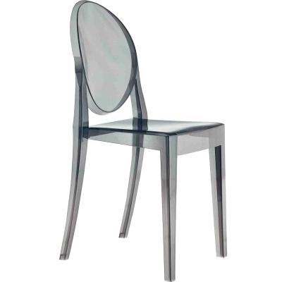 Victoria Ghost stol rökfärgad grå