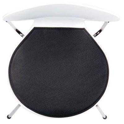 Stolsdyna 3107 basic läder svart